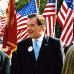 Tom Ridge at the 2004 Veterans Day Parade in Media