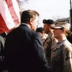 Former PA governor Tom Ridge at 2004 Media Veterans Day Parade
