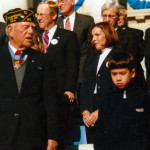MOH Recipient Stephen Gregg and grandson