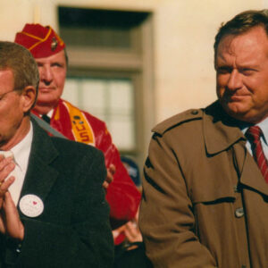 Tim Russert and Harry Kalas