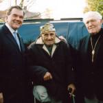 Tom Ridge, Dick Winters and Bill Guarnere