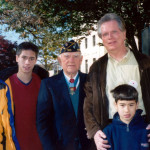 MOH Recipient Stephen Gregg, son and grandsons