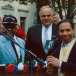Luther Smith, Gordon Smith, and Governor Rendell