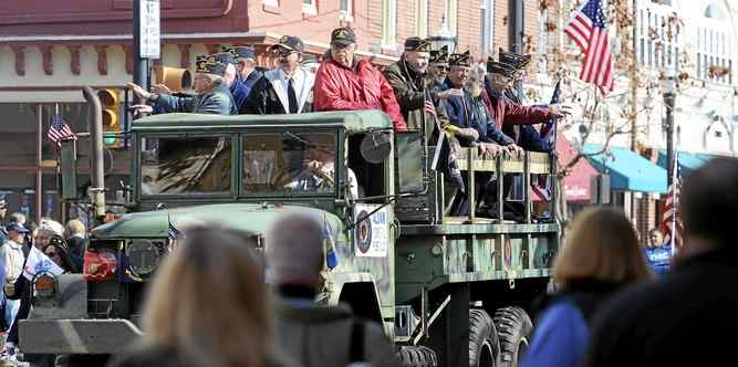 Veterans Day Parade 2015