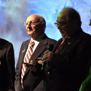 Bob Diamond being awarded in 2016